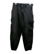 BLACK COMME des GARCONS(ブラックコムデギャルソン)の古着「カーゴパンツ」|ブラック