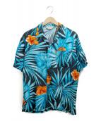 MICHAELGERALD(ミッシェルジェラルド)の古着「アロハシャツ」 ブルー
