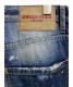 中古・古着 DSQUARED2 (ディースクエアード) ダメージ加工デニムパンツ インディゴ サイズ:48:15800円