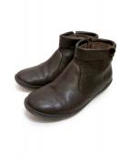 CAMPER(カンペール)の古着「ショートブーツ」|ダークブラウン