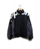 Supreme(シュプリーム)の古着「shoulder logo track jacket」|ブラック