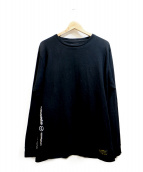 uniform experiment(ユニフォームエクスペリメント)の古着「UEN LONG SLEEVE TEE」|ブラック