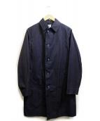 ()の古着「ショップコート」|ネイビー