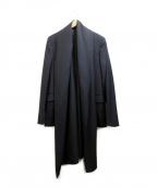 KRIS VAN ASSCHE(クリス ヴァン アッシュ)の古着「変形テーラードジャケット」 ブラック