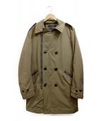 REPLAY(リプレイ)の古着「中綿ミリタリーコート」 カーキ