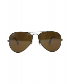 RAY-BAN(レイバン)の古着「ティアドロップサングラス」 ブラウン×ブラック