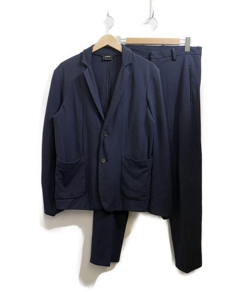 JIL SANDER(ジルサンダー)JIL SANDER (ジルサンダー) セットアップスーツ ネイビー サイズ:Sの古着・服飾アイテム