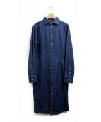RALPH LAUREN(ラルフローレン)の古着「デニムシャツワンピース」|インディゴ