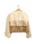 eimy istoire(エイミー イストワール)の古着「エコファージャケット」|ホワイト