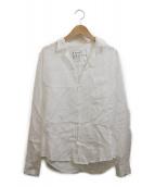 Frank&Eileen(フランクアンドアイリーン)の古着「リネンシャツ」|ホワイト