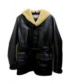 CALIFORNIAN(カリフォルニアン)の古着「HORSEHIDE SPORT COAT」|ブラック