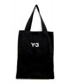 Y-3(ワイスリー)の古着「SLOGAN TOTE」|ブラック