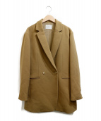 IENA(イエナ)の古着「ウールイージージャケット」|ブラウン