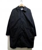 Yarmo(ヤーモ)の古着「BRISBANE MOSS DUSTER COAT」 ブラック