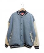 KAPPA(カッパ)の古着「スタジャン」|インディゴ