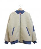 KAPPA(カッパ)の古着「ボアジャケット」|ベージュ