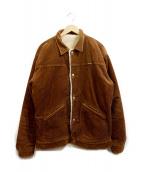 Wrangler(ラングラー)の古着「リバーシブルランチジャケット」|ブラウン