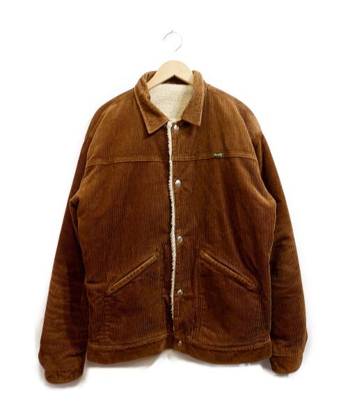 Wrangler(ラングラー)Wrangler (ラングラー) リバーシブルランチジャケット ブラウン サイズ:Ⅼ 秋物の古着・服飾アイテム