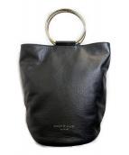 MARCO MASI(マルコマージ)の古着「バケツ型2WAYバッグ」 ブラック