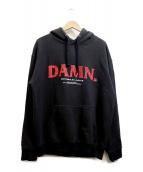 Kendrick Lamar DAMN(ケンドリックラマー)の古着「プルオーバーパーカー」|ブラック