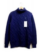 N.HOOLYWOOD(エヌハリウッド)の古着「ケーブルニット」|ネイビー