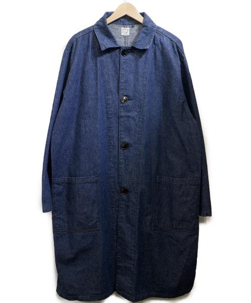 orSlow(オアスロウ)orSlow (オアスロウ) ステンカラーコート インディゴ サイズ:2の古着・服飾アイテム