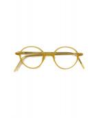 白山眼鏡店(ハクサンメガネテン)の古着「眼鏡」|イエロー