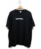 Supreme(シュプリーム)の古着「モーションロゴプリントTシャツ」|ブラック