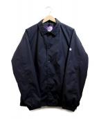 THE NORTHFACE PURPLELABEL(ザノースフェイスパープルレーベル)の古着「コーチジャケット」|ブラック