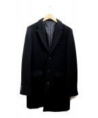 Luis(ルイス)の古着「メルトンチェスターコート」|ブラック