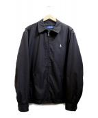 POLO RALPH LAUREN(ポロラルフローレン)の古着「スイングトップ」|ブラック