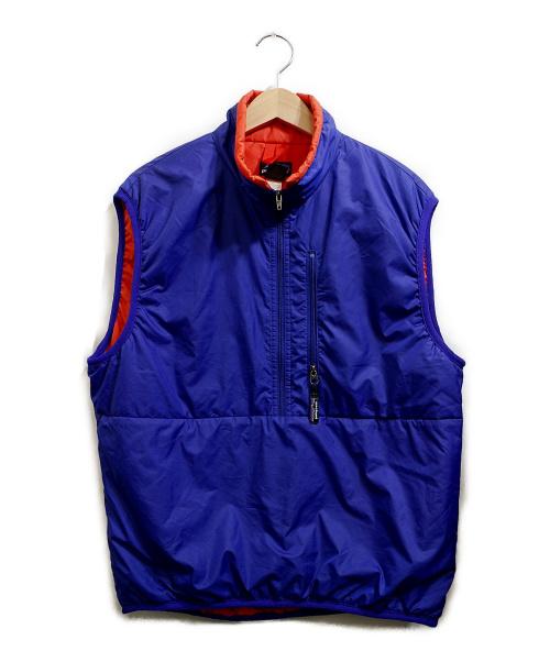 Patagonia(パタゴニア)Patagonia (パタゴニア) パフボールベスト ブルー サイズ:Sの古着・服飾アイテム