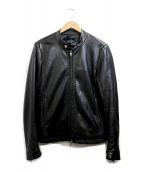 Luis(ルイス)の古着「ラムレザージャケット」 ブラック