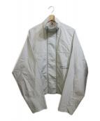 ()の古着「ダブルジップオーバーシャツジャケット」|グレー