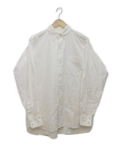 KAPTAIN SUNSHINE(キャプテンサンシャイン)KAPTAIN SUNSHINE (キャプテン サンシャイン) オックスフォードシャツ ホワイト サイズ:38Mの古着・服飾アイテム