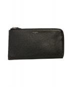 PELLE MORBIDA(ペッレモルビダ)の古着「L字長財布」|ブラック