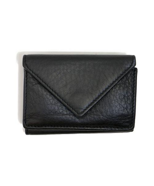BALENCIAGA(バレンシアガ)BALENCIAGA (バレンシアガ) 3つ折り財布 ブラック 391446・1000の古着・服飾アイテム