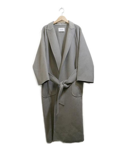 haunt(ハウント)haunt (ハウント) ダブルフェイスラグランコート グレー サイズ:38の古着・服飾アイテム