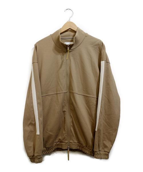 CURLY(カーリー)CURLY (カーリー) トラックジャケット ベージュ サイズ:2の古着・服飾アイテム