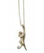 Supreme(シュプリーム)の古着「Panther Gold Pendant」