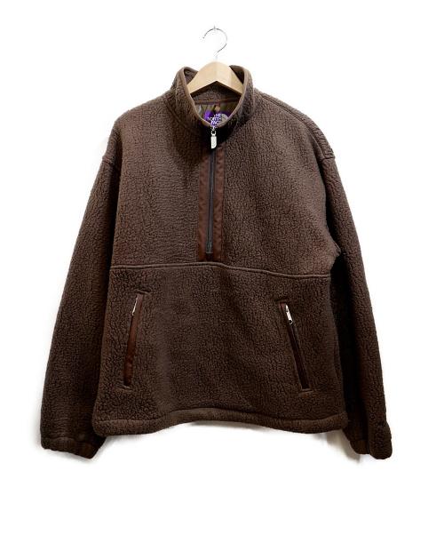 THE NORTHFACE PURPLELABEL(ザノースフェイスパープルレーベル)THE NORTHFACE PURPLELABEL (ザノースフェイスパープルレーベル) SWEET WATER PULLOVER ブラウン サイズ:Mの古着・服飾アイテム
