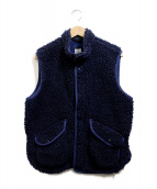 CORONA(コロナ)の古着「DEEP FREEZE・FLEECE VEST」|ネイビー