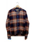 kolor/BEACON(カラービーコン)の古着「パジャマシャツ」|オレンジ