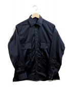 CORONA(コロナ)の古着「ナイロンシャツ」 ネイビー
