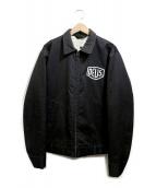 DEUS EX MACHINA(デウスエクスマキナ)の古着「中綿ワークジャケット」 ブラック
