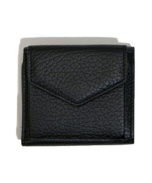 Maison Martin Margiela(メゾンマルタンマルジェラ)Maison Martin Margiela (メゾンマルタンマルジェラ) 3つ折り財布 ブラックの古着・服飾アイテム