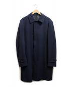 J.PRESS(ジェイプレス)の古着「ウールステンカラーコート」 ネイビー