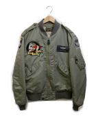 Buzz Ricksons(バズリクソンズ)の古着「フライトジャケット・タイプL-2B」|カーキ