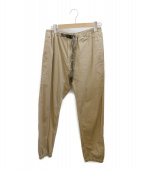 GRAMICCI(グラミチ)の古着「クライミングパンツ」 ベージュ