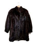 EMBA(エンバ)の古着「ミンクコート」 ブラウン